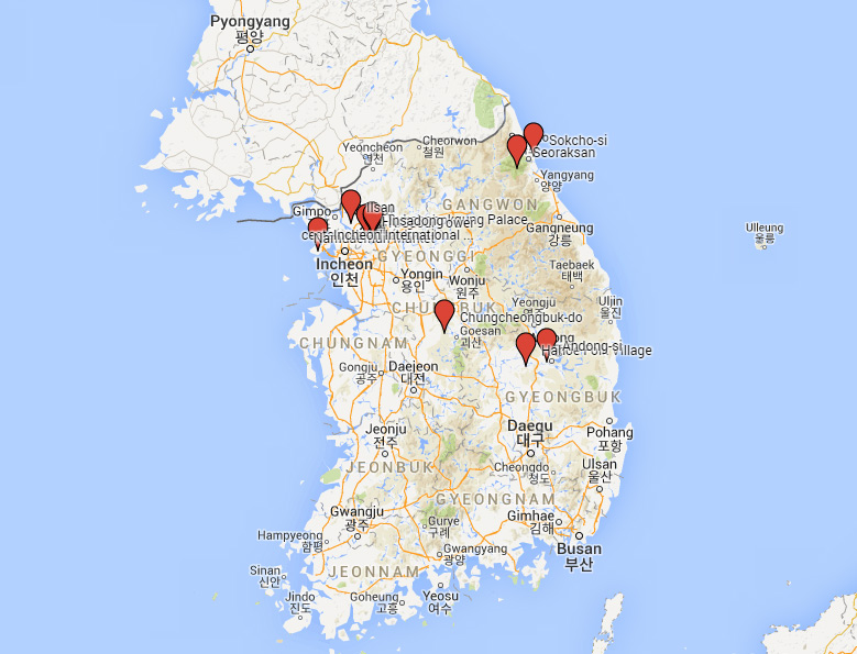 mapa-korea