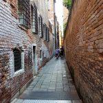 Benátky - Typická ulice