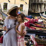 Benátky - Selfie u gondol