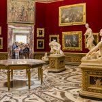 Florencie - Galerie Uffizi, Tribuna