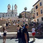 Řím - Španělské schody