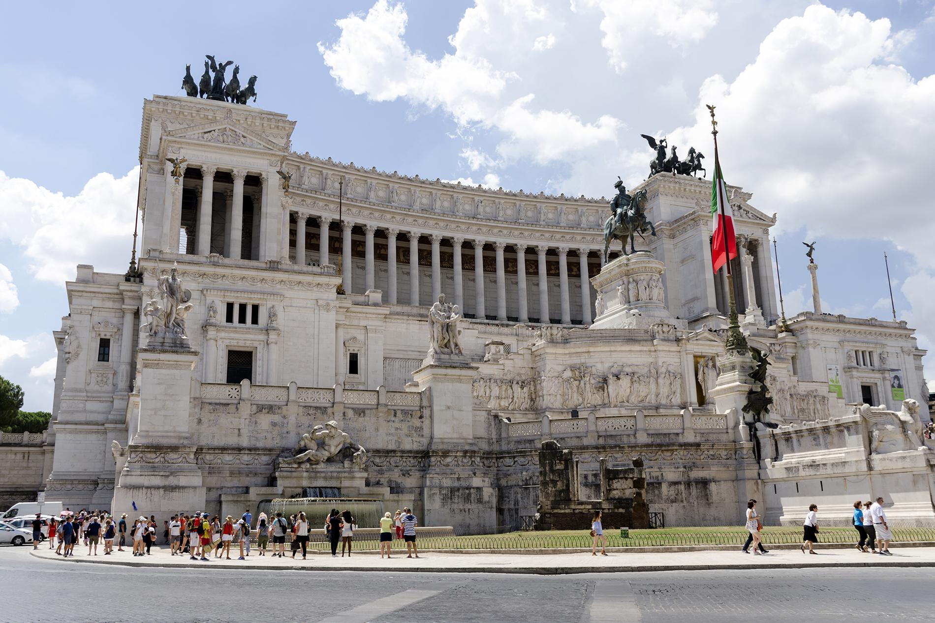 Řím - Monumento Nazionale a Vittorio Emanuele II